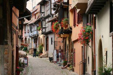 Circuit Touristique Eguisheim Alsace VTC